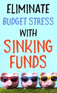 Sinking funds are the secret to a successful budget. Reduce your financial stress by including sinking fund categories in your budget. Ways To Save Money, Make More Money, Money Tips, Money Saving Tips, Money Hacks, Budgeting Finances, Budgeting Tips, Financial Stress, Financial Literacy