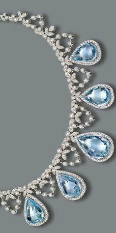 # Cerulean ~ Diamonds & Aquamarinas