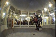 Indoor skydiving in Eloy, AZ