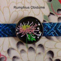 糸菊の帯留 | Rumphius 帯留