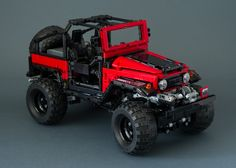 LEGO Technic Mod of rm8's Toyota FJ40 by Madoca. FJ40 Crawler MOD