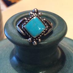 A turquoise diamond!
