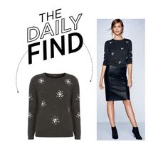 """Daily Find: Dorothy Perkins Snowflake Sweater"" by polyvore-editorial ❤ liked on Polyvore featuring Dorothy Perkins and DailyFind"