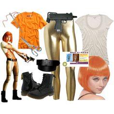 DIY Fifth Element Lee Loo Costume