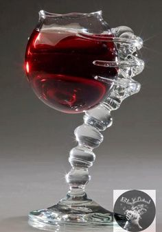 wine glass! I like the shape of the cup but not the holder/stem