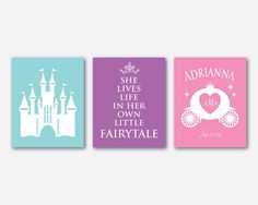 She lives life in her own little fairytale by SusanNewberryDesigns, $45.00