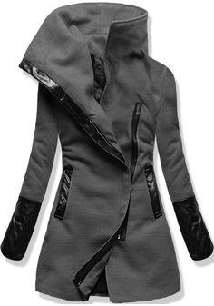 Kabát 8182 grafitový