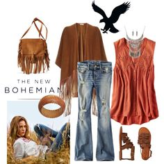 The New Bohemian with American Eagle Outfitters: Contest Entry by sonyastyle on Polyvore