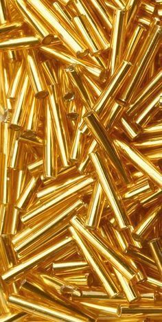 Toho Gold Bead Bugle