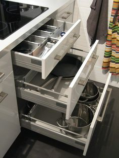 1000 images about cajones de cocina ideas on pinterest catalog ikea and corner cupboard - Ideas para colgar trapos de cocina ...
