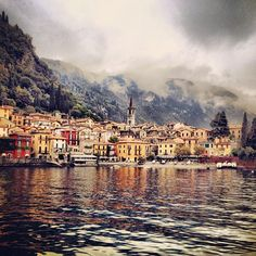 Misty weather makes the beauty of Varenna on #Italy's Lake Como stand out even more. Find out the best hotels to book in this Italian lake region. Photo courtesy of msgingerhoneycutt on Instagram.