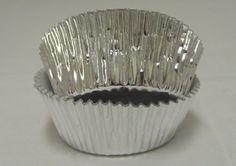 Silver Foil GP cupcake liners