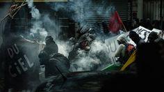 Nuit debout : des policiers aux manifestants, les photos fortes de Rémy Soubanère
