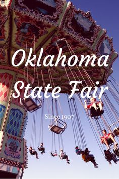 Oklahoma City's biggest event of the entire year! Head to the Great State Fair of Oklahoma for your fill of great fair food, fun concerts, midway games and so much more.