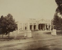 Sociëteit Insulinde in Buitenzorg 1888.