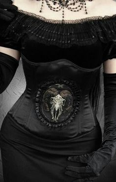 Witch. Costume. Halloween. Corsets. Wiccan