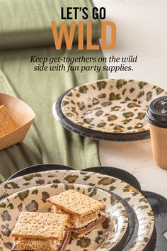 Let your wild side show with party and baking supplies from your local Hobby Lobby®! Girls Birthday Party Themes, First Birthday Parties, Birthday Celebration, Halloween Desserts, Halloween Party, Best Icing Recipe, Safari Theme Party, Camping Parties, Housewarming Party