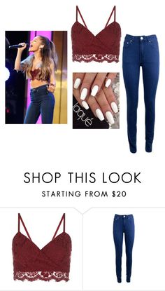 """""""Ariana Grande"""" by persialuv ❤ liked on Polyvore featuring Acne Studios"""