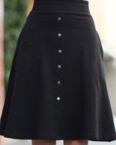 Serenade Skirt - Black