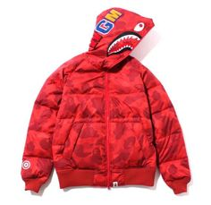 FURTHER ITEMS ADDED TO SALE! COLOR CAMO SHARK HOODIE JACKET NOW 30% OFF! http://eu.bape.com/products/copy-of-color-camo-shark-hoodie-down-jacket-purple…