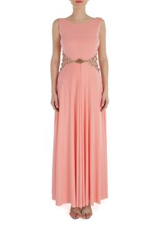 Rose Pink Arlette Gown |  Shop now: www.thesecretlabel.com