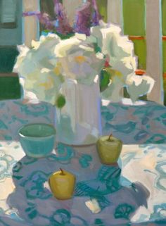 ❀ Blooming Brushwork ❀ - garden and still life flower paintings - Anna Ward