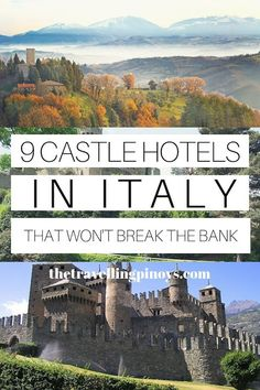 9 Best Castle Hotels in Italy – The Travelling Pinoys – Best Europe Destinations Cool Places To Visit, Places To Travel, Destinations D'europe, Italy Travel Tips, Bali Travel, Kerala Travel, Bangkok Travel, Iceland Travel, London Travel