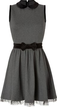 Valentino R.E.D. Jersey Dress with Velvet Bow on shopstyle.com