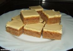 Czech Recipes, Ethnic Recipes, Snack Recipes, Snacks, Cornbread, Cheesecake, Meals, Czech Food, Snack Mix Recipes
