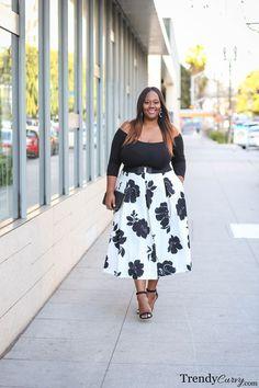 Easter Chic | Plus Size Fashion | TrendyCurvy