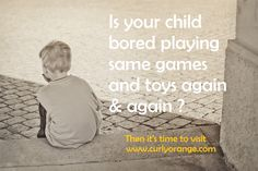 Is your child complaining 'I am bored' ?