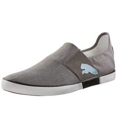 Chambray Lazy Slip-on, gray-dark shadow
