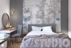 nowoczesna sypialnia - zdjęcie od MIKOŁAJSKAstudio