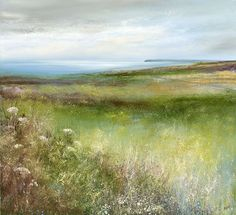 Amanda Hoskin - Towards Tywardreath and then to St Austell Bay where the Light was Bright and St