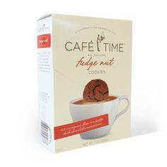 Cafe Time Cookie Branding & Packaging