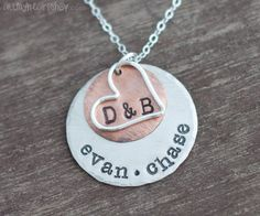 Personalized Family Necklace - Layered Mothers Jewelry on Etsy, $44.00