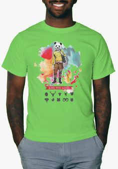 A new custom-designed shirt available for a limited time, exclusively at TeeBlaster.com Giraffe, Must Haves, Teeth, Mens Tops, T Shirt, Fashion, Moda, Felt Giraffe, Tee