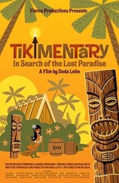 """Tikimentary A movie, featuring Shag, about the search for the ultimate Tiki experience. For any """"tikiphile"""" who drinks tropical drinks, wears vintage clothes and seeks a simple island lifestyle without necessarily ever having to step foot on an island. Tiki Hawaii, Hawaiian Tiki, Hawaiian Decor, Drink Bar, Bars Tiki, Tiki Art, Tiki Tiki, Lost Paradise, Tiki Decor"""