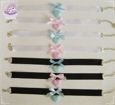 Hey, I found this really awesome Etsy listing at https://www.etsy.com/listing/220505420/pastel-heart-chokers