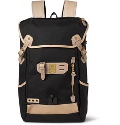 Master-Piece Canvas and Leather Backpack | MR PORTER