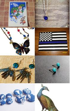 Blue Monday by Coco on Etsy--Pinned with TreasuryPin.com