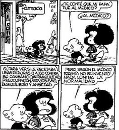 Mafalda, by Quino. Mafalda Quotes, H Comic, Cartoon Quotes, Clever Quotes, Humor Grafico, Smiles And Laughs, Childhood Friends, Comic Strips, I Movie