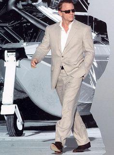Casino Royale Linen suit
