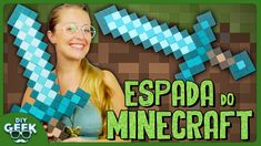 Espada do Minecraft - DiY Geek