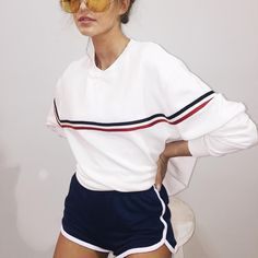 Casual cute style and fashion outfit ideas Look Fashion, Fashion Outfits, Womens Fashion, Teen Fashion, Fashion Trends, Sport Outfit, Outfits Casual, Grunge Outfits, Looks Street Style