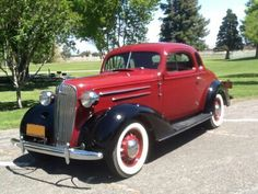 1936 Chevrolet Master Deluxe Coupe- (Chevrolet Motor Co. Detroit, Michigan 1911-present)