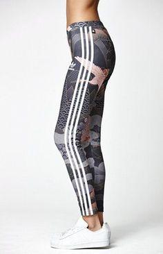 Adidas by Rita Ora Kimono Print Leggings Well. ac96312978a