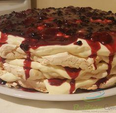 Romanian Desserts, Meringue Pavlova, Sweet Treats, Deserts, Cookies, Recipes, Food, Crack Crackers, Sweets