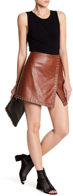 Leibl '38 Studded Mini Skirt. Mini skirt fashions. I'm an affiliate marketer. When you click on a link or buy from the retailer, I earn a commission.