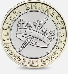 The 2016 Shakespeare Histories £2 coin